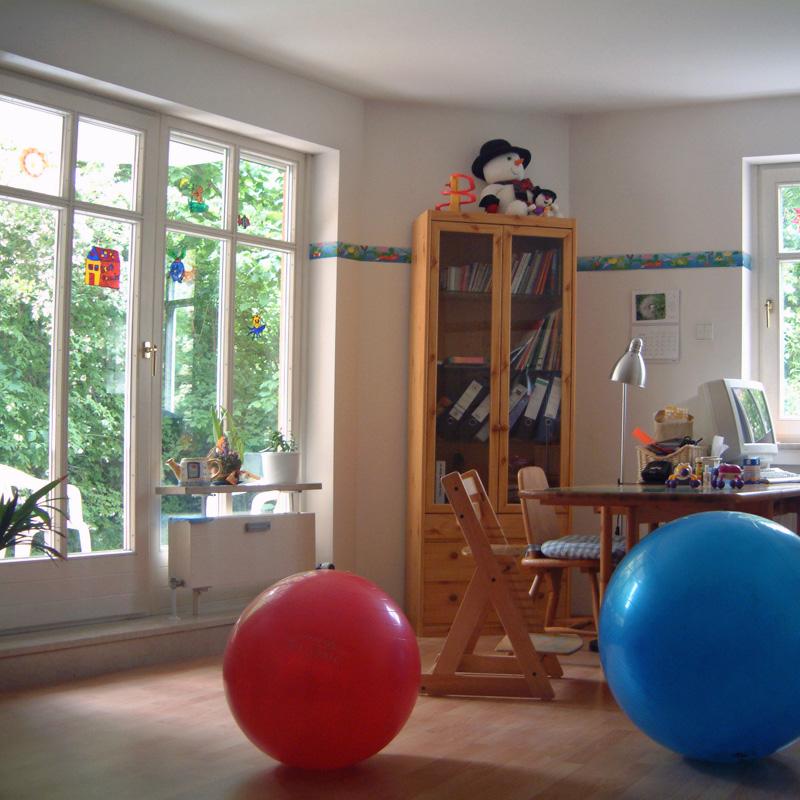 Therapieraum - Praxis Iris Gewitsch